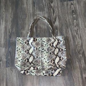 Saks Fifth Avenue Snakeskin Bag